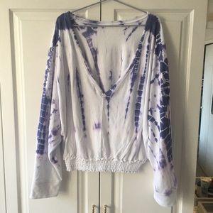 Anthropologie Saturday Sunday Tie Dye Sweatshirt